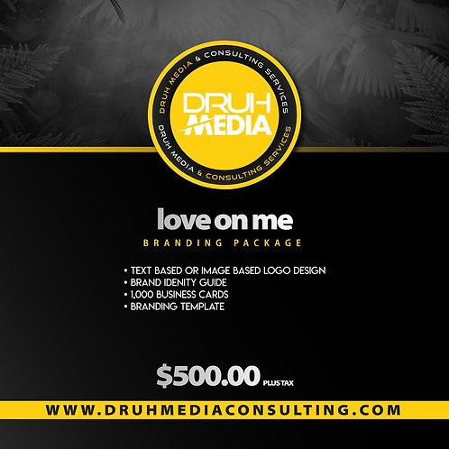 Love on Me Branding Package