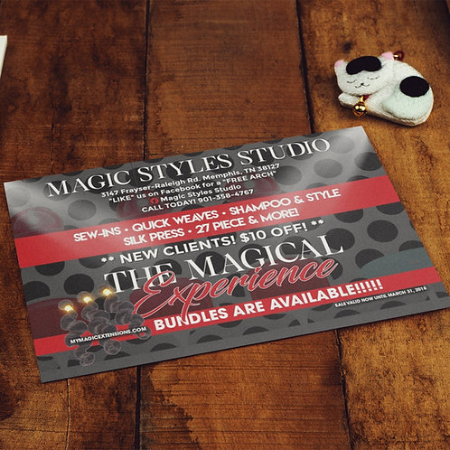 Double Sided Flyer Design