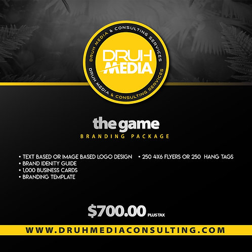 The Game Branding Package