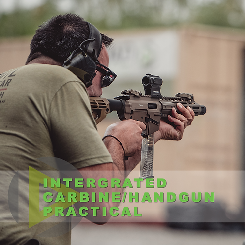 Integrated Rifle/Handgun Practical