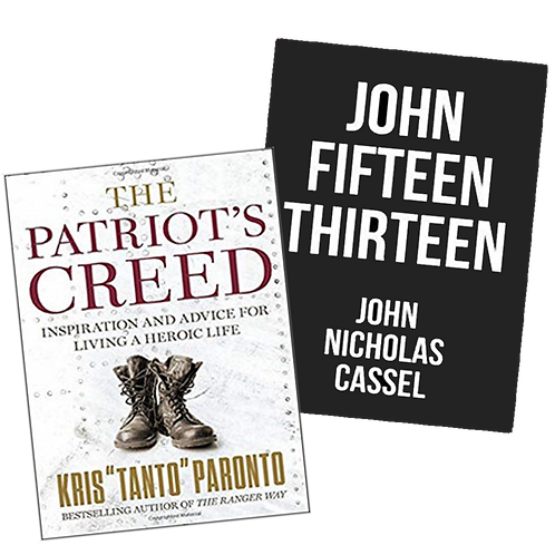 The Patriot's Creed + John Fifteen Thirteen [Autographed Editions]