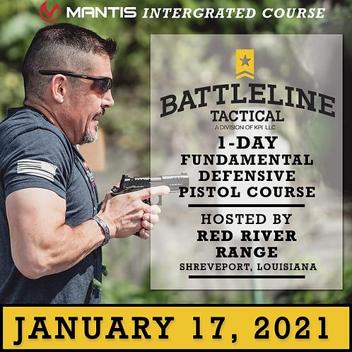 [1-DAY] Fundamental Defensive Pistol Course  - Louisiana