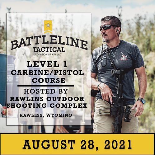 [1-DAY] Level 1 Carbine/Pistol Course - Wyoming