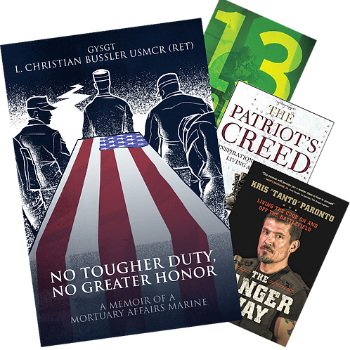 [Limited Bundle] No Tougher Duty, No Greater Honor