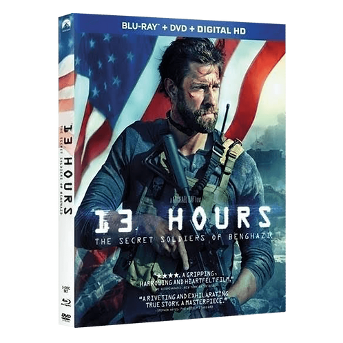 13 Hours DVD/Blu-Ray Combo [Autographed Edition]