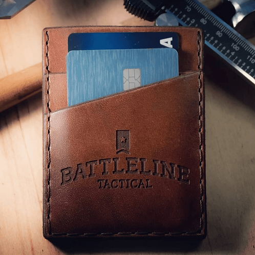 Forj'd - Battleline Tactical Front Pocket Money Clip Wallet