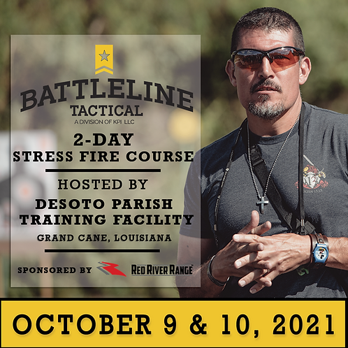 [2-DAY] Advance Carbine & Pistol Stress Fire Course  - Louisiana