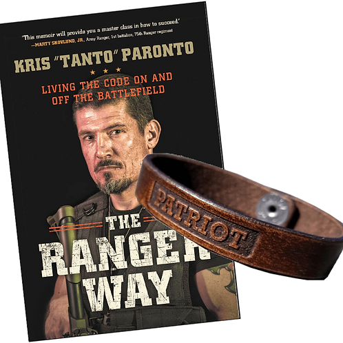 The Ranger Way Book & Forj'd Bracelet