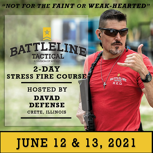 [2-DAY] Stress Fire Course - Illinois