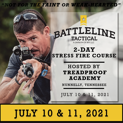 [2-DAY] Stress Fire Course - Tennessee