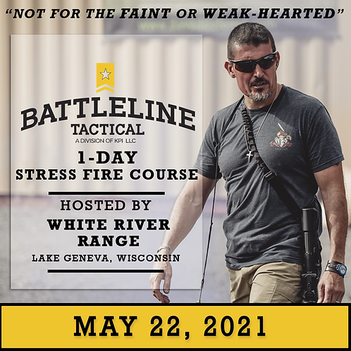 [1-DAY] Stress Fire Course - Wisconsin