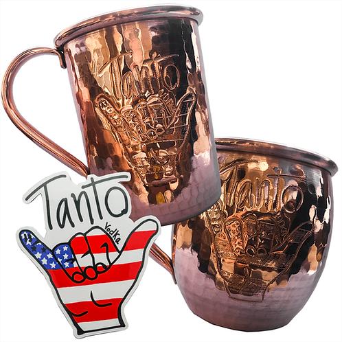 Tanto Vodka Copper Mug & Decal