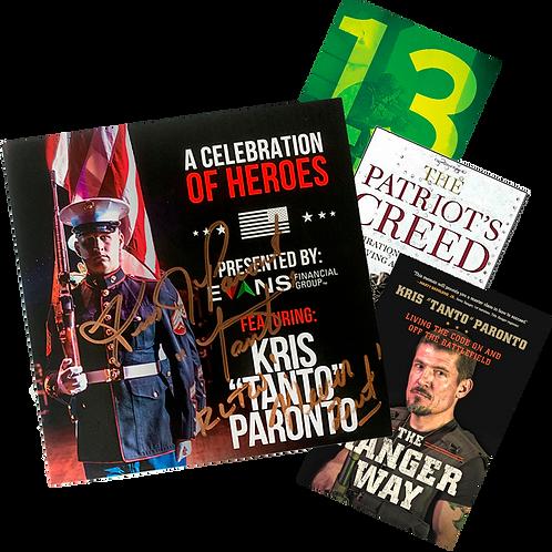 [Limited Bundle] A Celebration of Heroes DVD