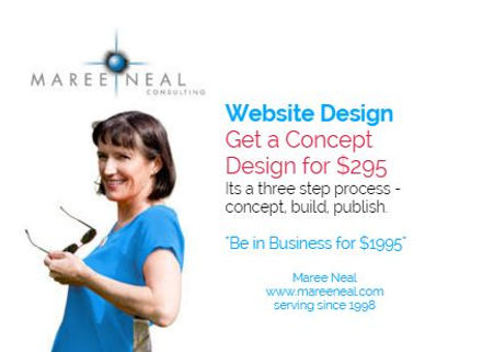 Maree Neal Consulting, Website Design - New Zealand