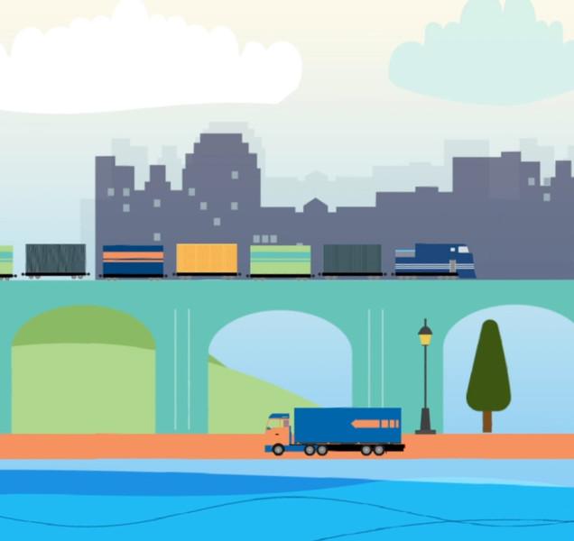 Shipping Animation
