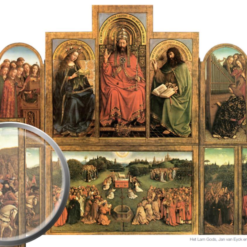 De diefstal van de rechtvaardige rechters - Het Lam Gods