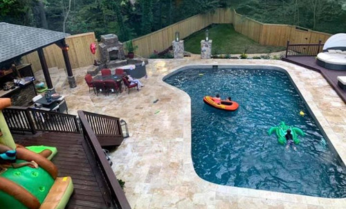 Pool Remodel & Cabana Build