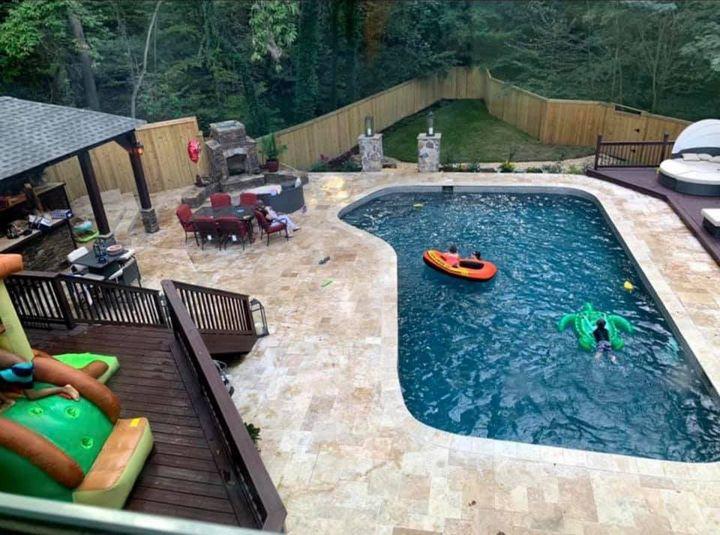 Pool Remodel & Cabana Build