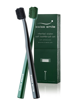 herbal bliss two toothbrushes