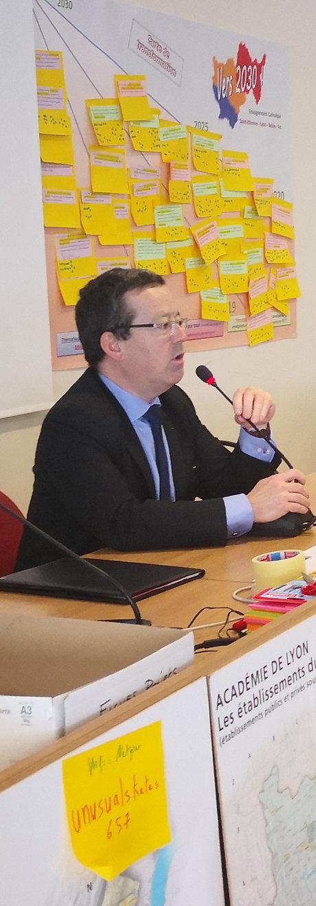 Yann DIRAISON, Secrétaire général adjoint de l'Enseignement Catholique