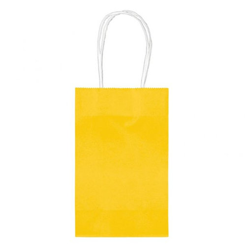 Sunflower Yellow Party Bags