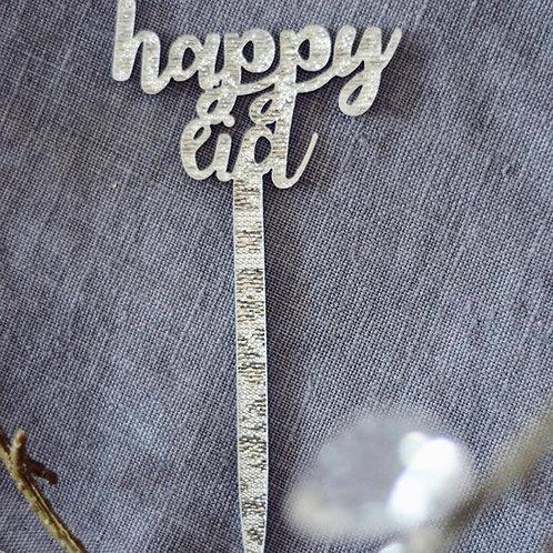 Happy Eid Cupcake Topper
