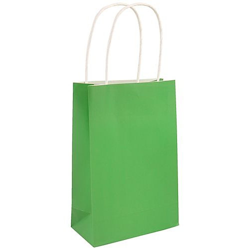 Emerald Green Party Bags