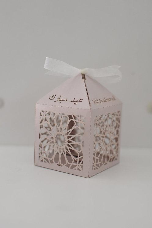 Lavender Geometric Eid Mubarak Box