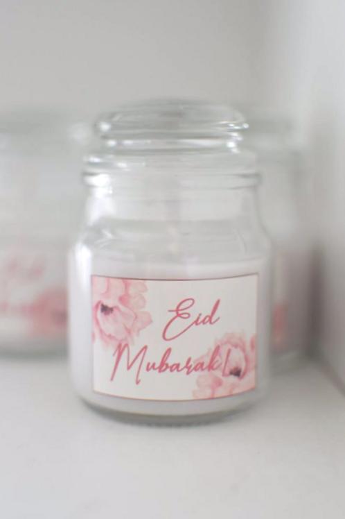 Eid Mubarak Scented Candle