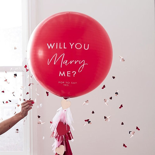 Will You Marry Me Proposal Balloon Kit
