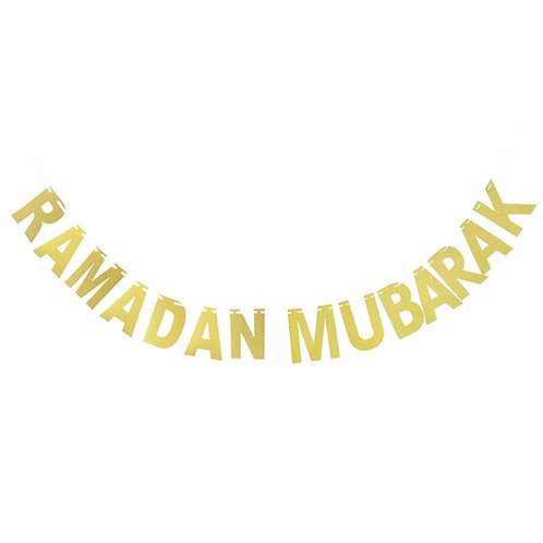 Ramadan Mubarak Bunting