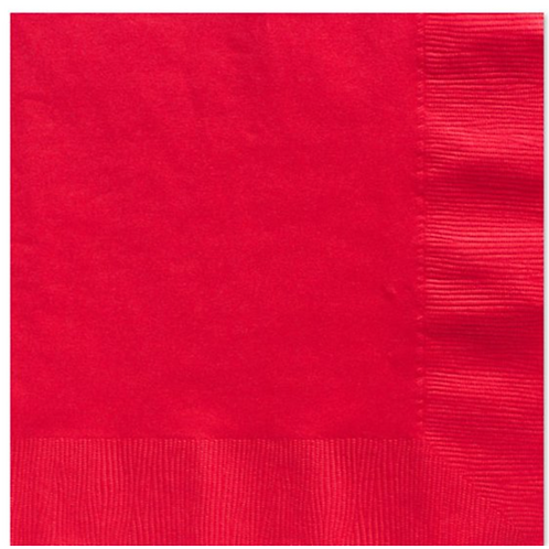 Ruby Red Napkins