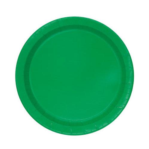 Emerald Green Plates