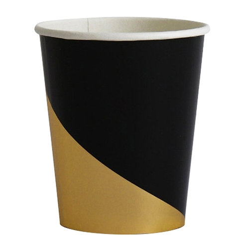 Black & Gold Cups
