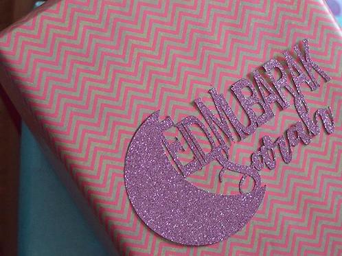 Customised Glitter Gift Packaging