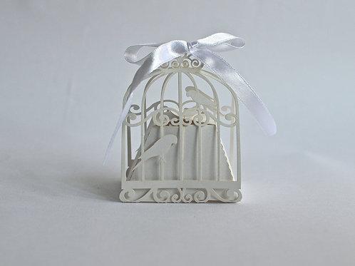 Vintage Birdcage Box