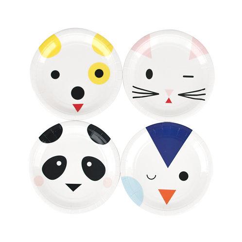 Mini Animals Plates