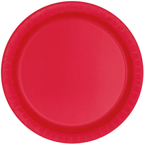 Ruby Red Plates