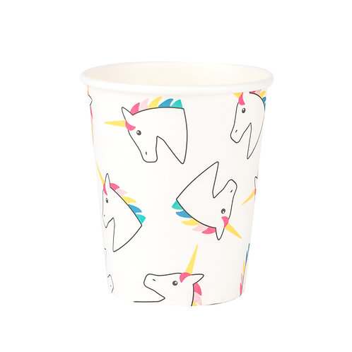 Rainbow Unicorn Cups