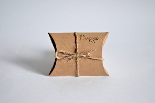 Kraft Pillow Box