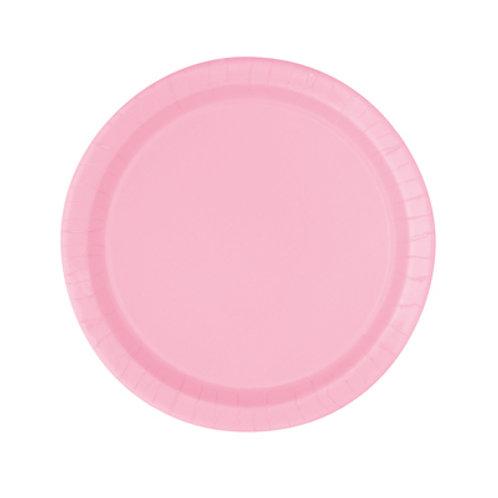 Powder Pink Plates