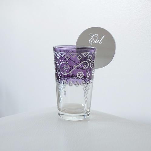 Silver Eid Drink Accessory