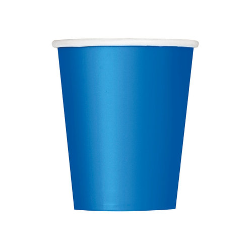 Royal Blue Cups