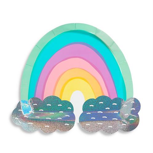 Over The Rainbow Plates