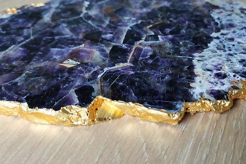 Amethyst Agate Platter