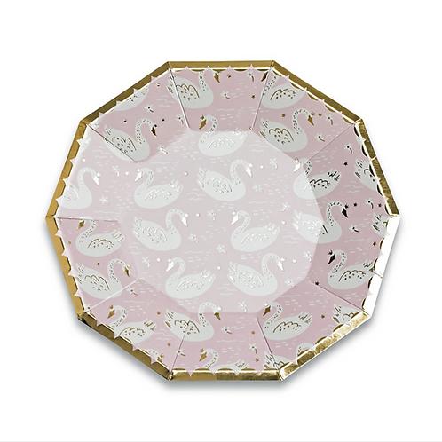 Swan Princess Plates