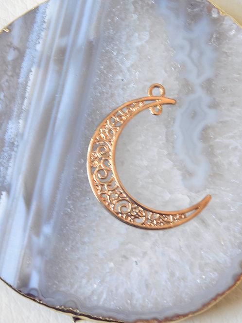 Crescent Moon Charm
