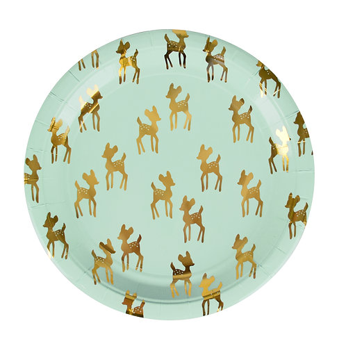 Fawn Plates