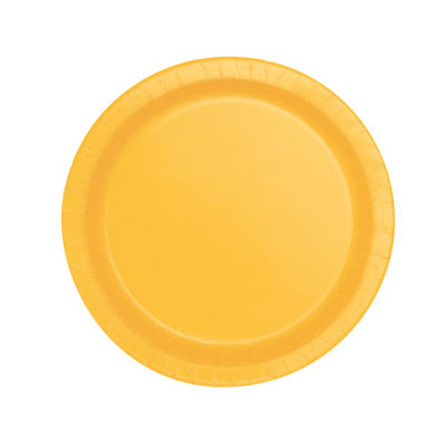 Sunflower Yellow Plates