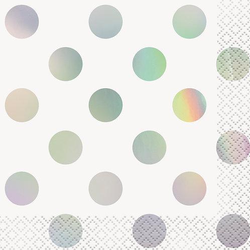 Iridescent Dot Napkins